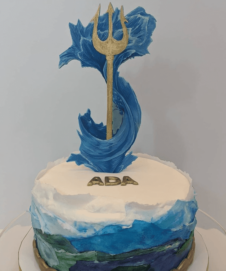 Angelic Percy Jackson Cake