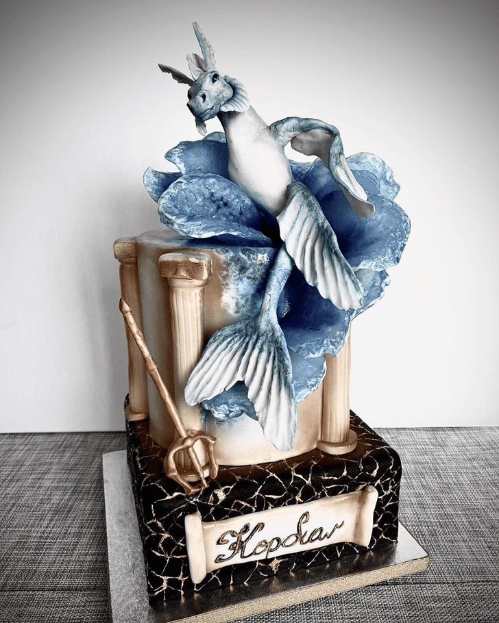 Bewitching Percy Jackson Cake