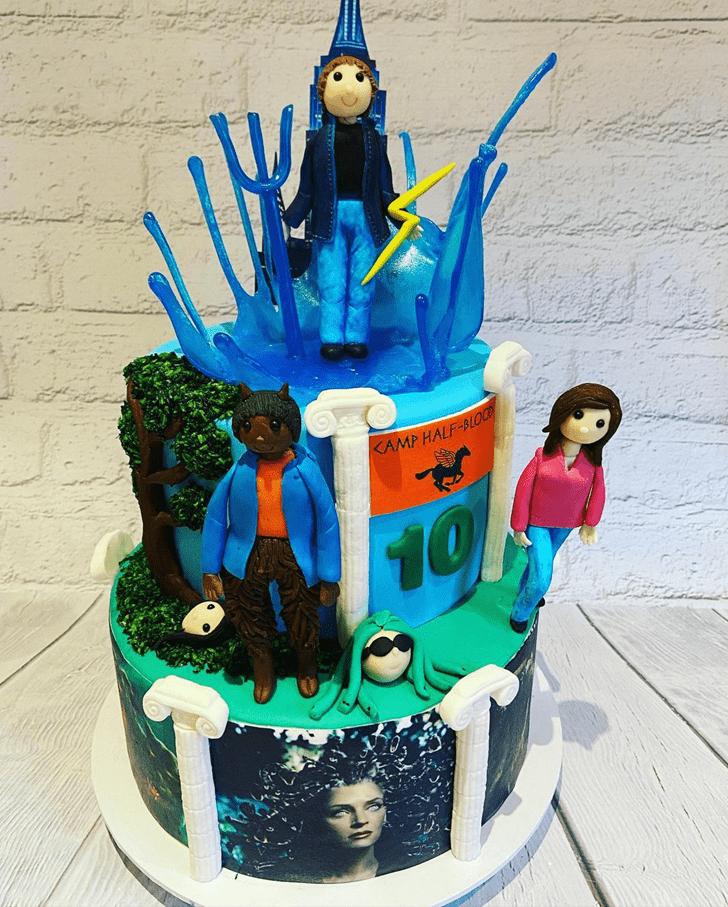 Captivating Percy Jackson Cake