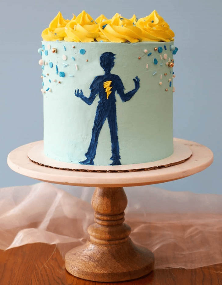Charming Percy Jackson Cake