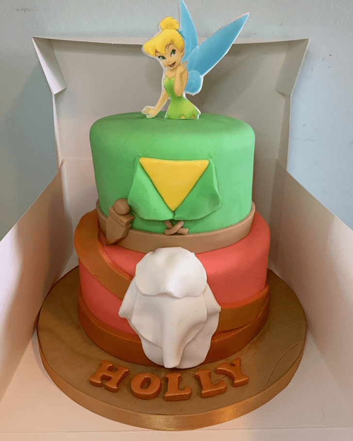 Admirable Peter Pan Cake Design