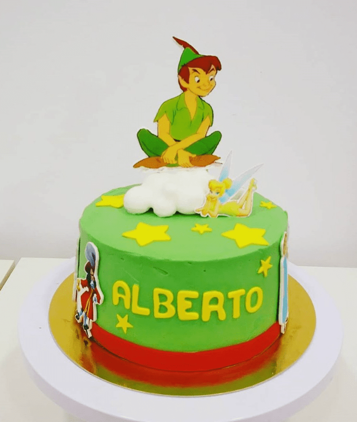 Angelic Peter Pan Cake