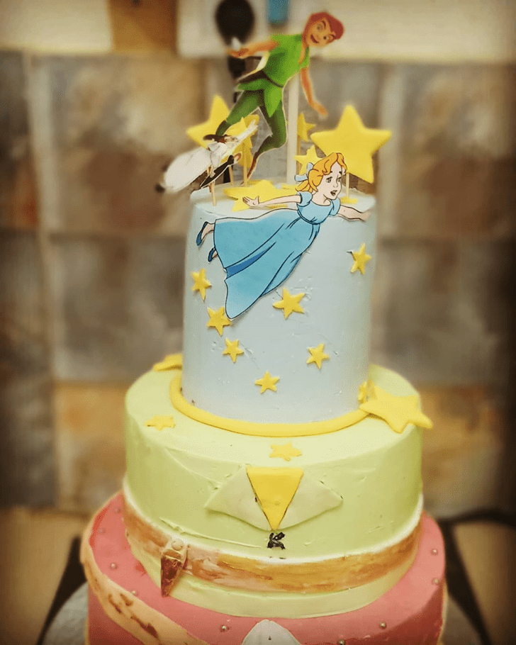 Bewitching Peter Pan Cake
