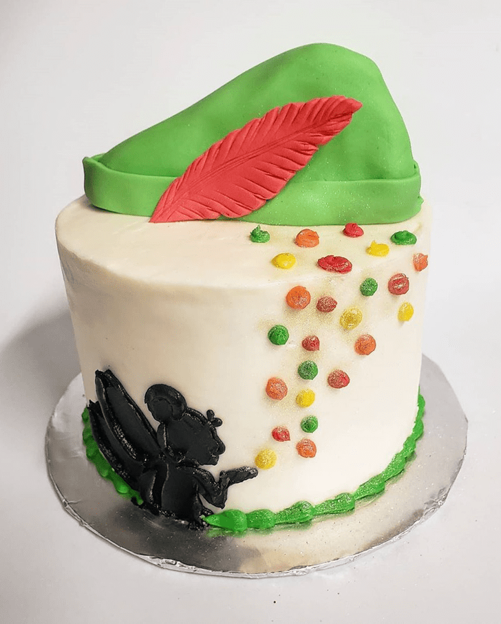Captivating Peter Pan Cake