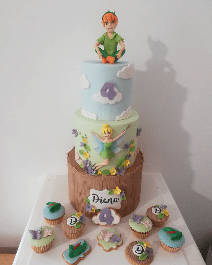 Charming Peter Pan Cake