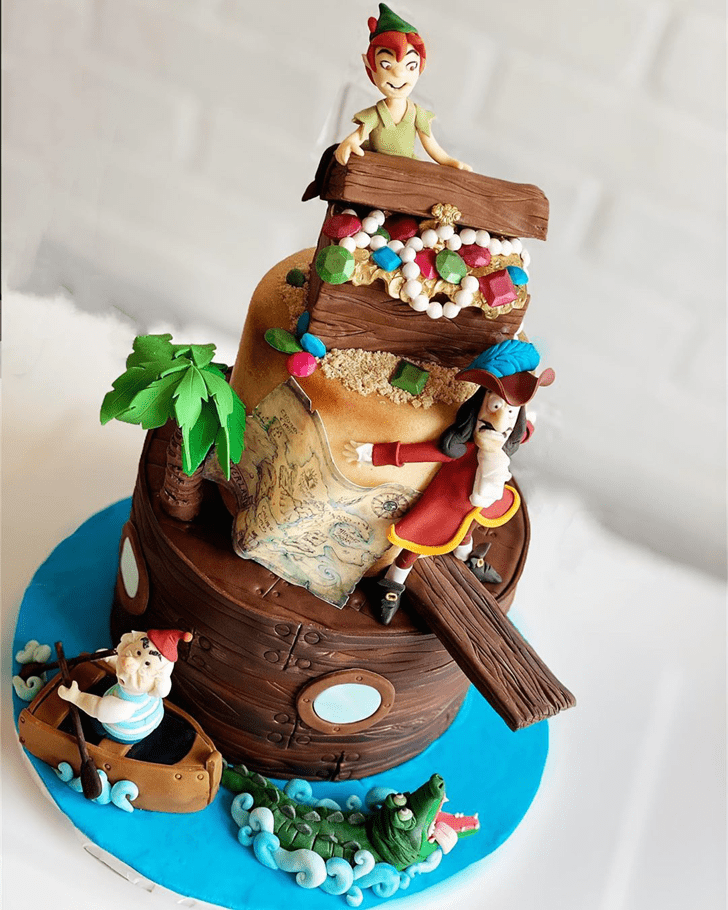 Comely Peter Pan Cake