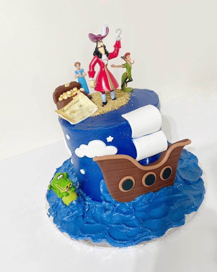 Delightful Peter Pan Cake