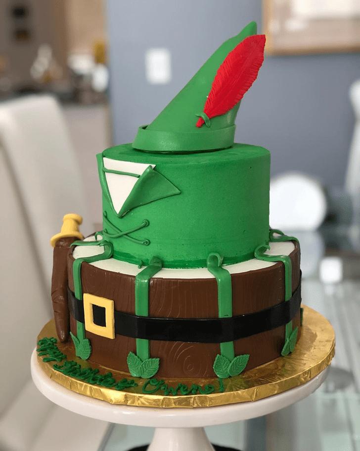 Elegant Peter Pan Cake