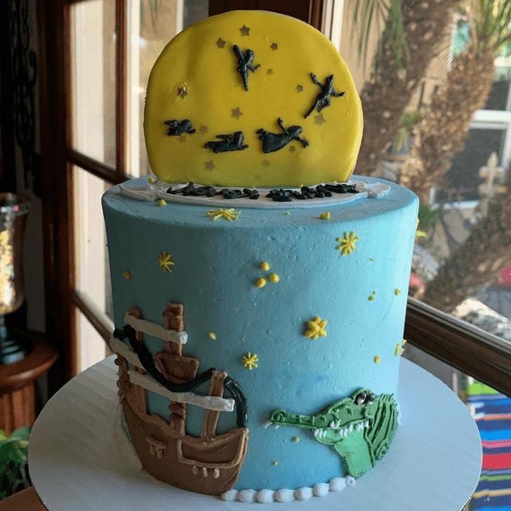 Enthralling Peter Pan Cake