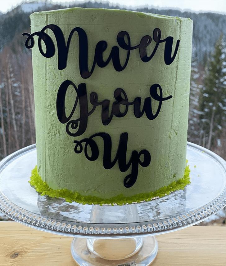 Graceful Peter Pan Cake
