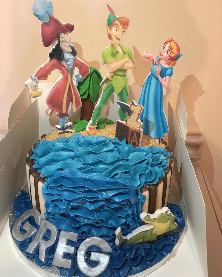 Marvelous Peter Pan Cake