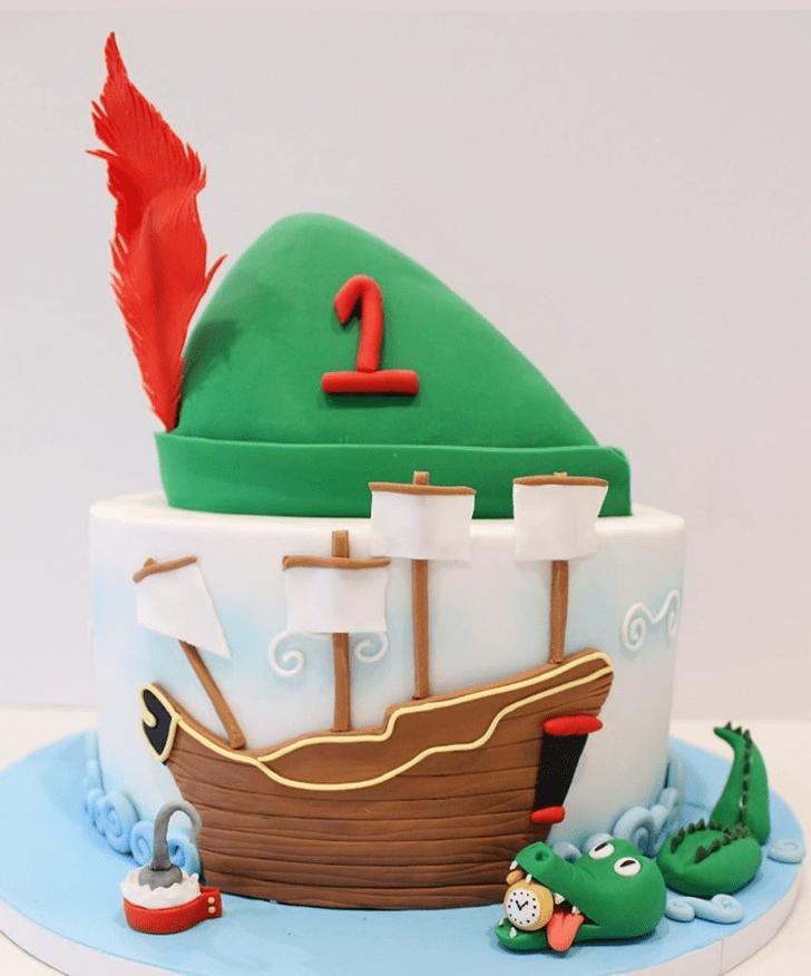 Pleasing Peter Pan Cake