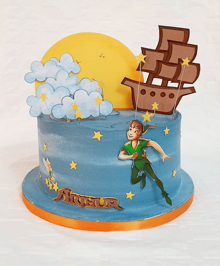 Shapely Peter Pan Cake