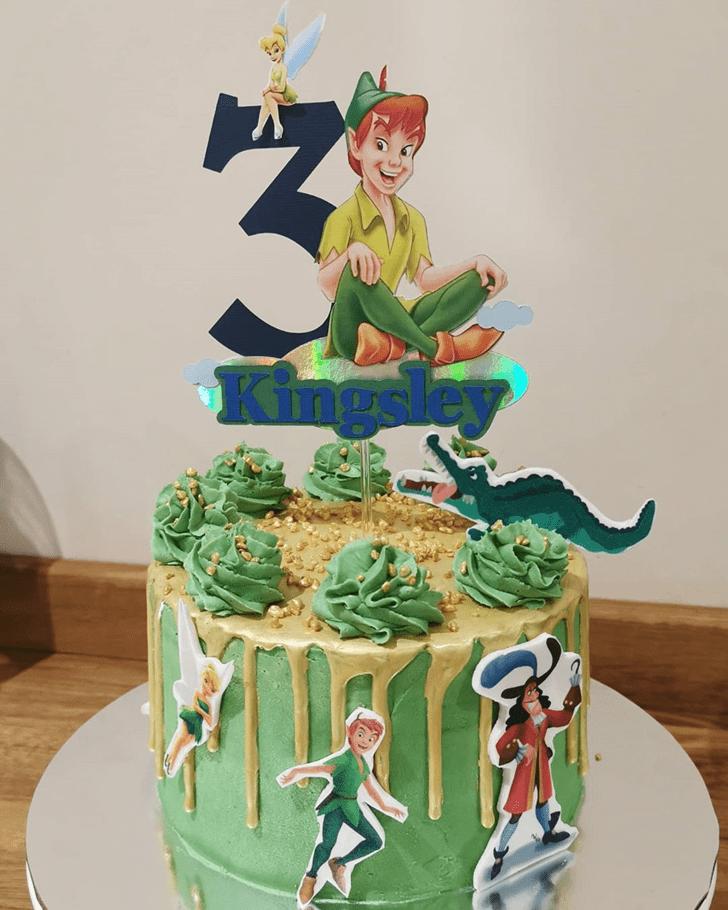 Wonderful Peter Pan Cake Design