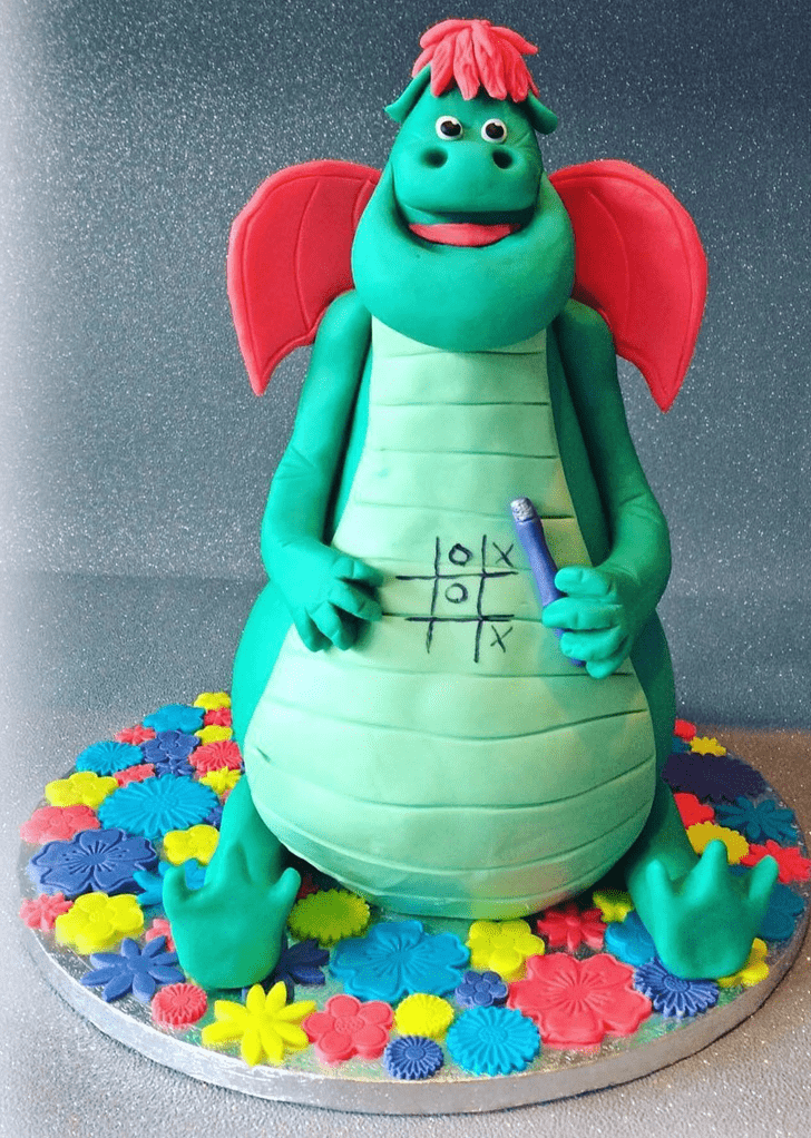 Admirable Petes Dragon Cake Design