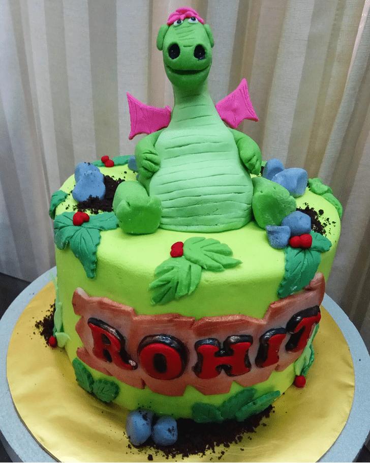 Appealing Petes Dragon Cake