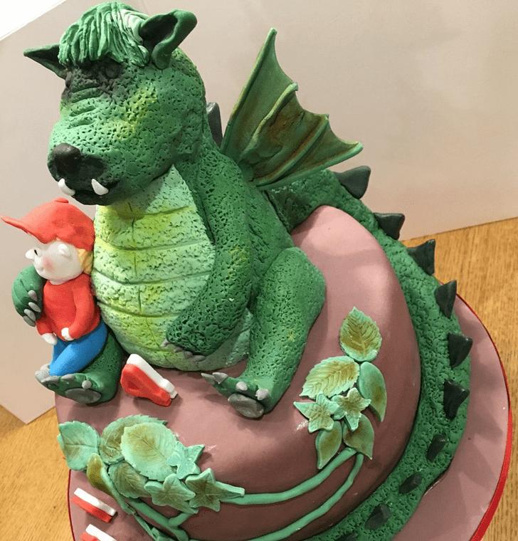 Captivating Petes Dragon Cake