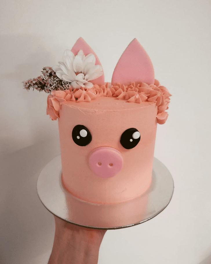 Angelic Pig Cake