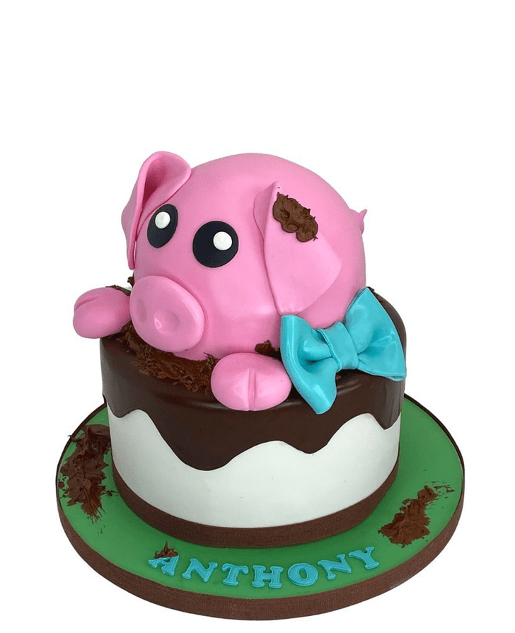 Comely Pig Cake