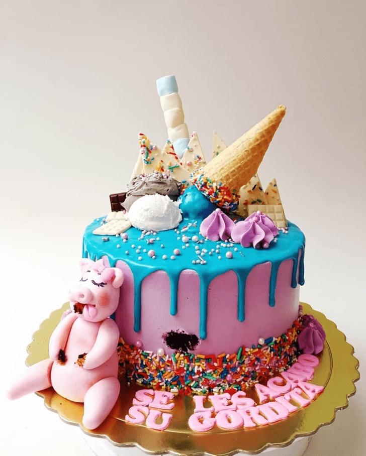 Delightful Pig Cake