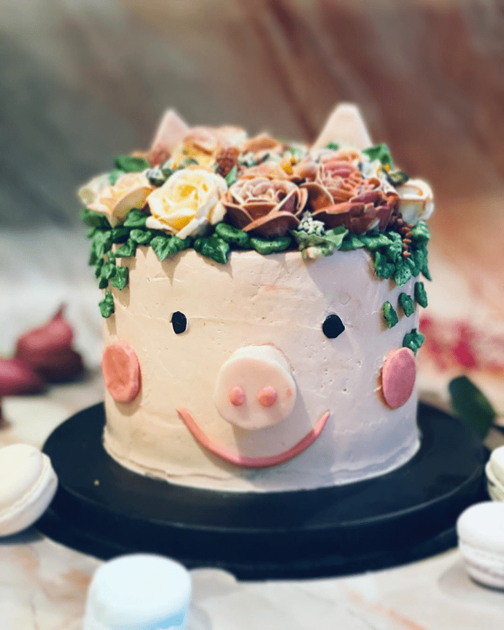 Enticing Pig Cake