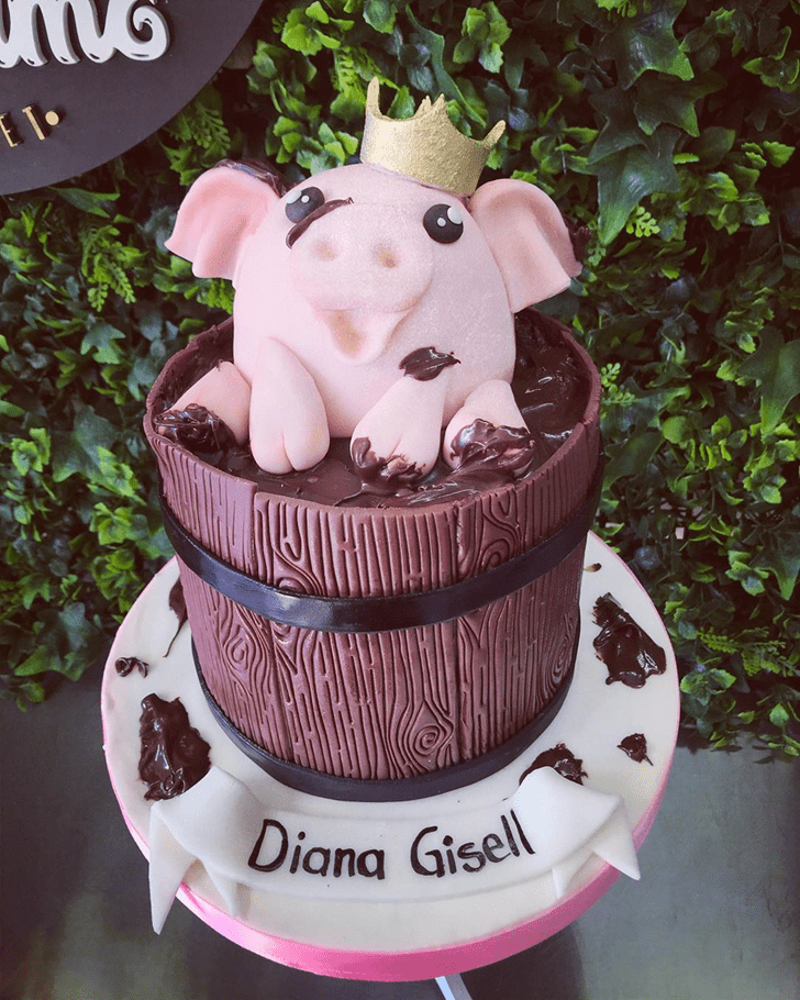 Excellent Pig Cake