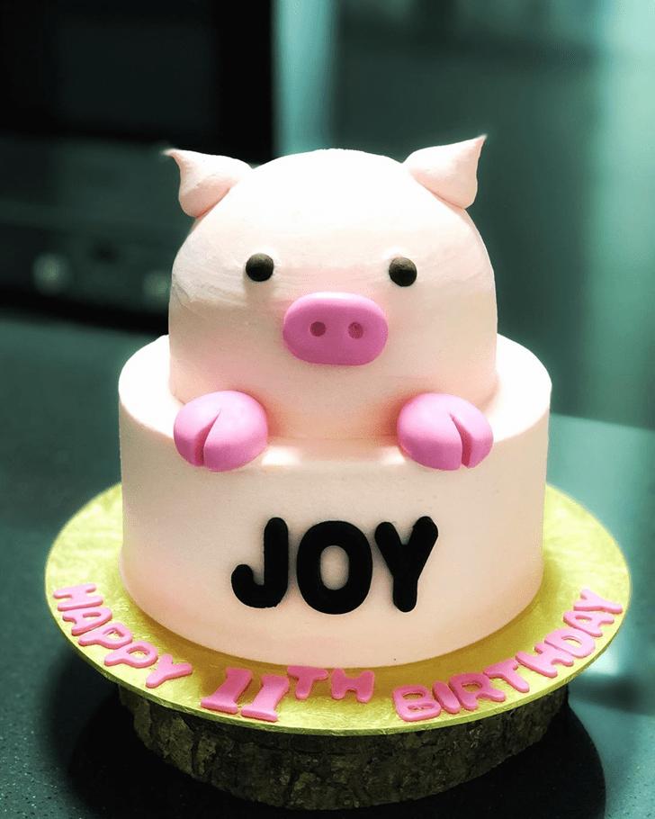 Fair Pig Cake