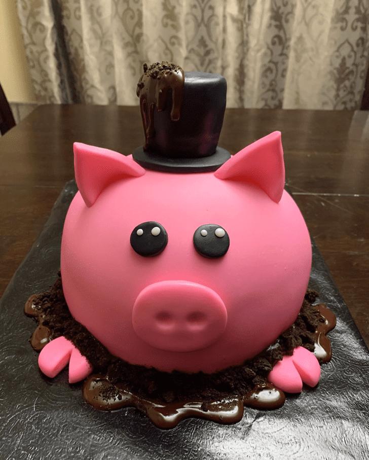 Fetching Pig Cake