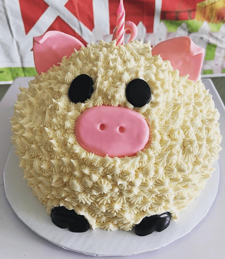 Gorgeous Pig Cake