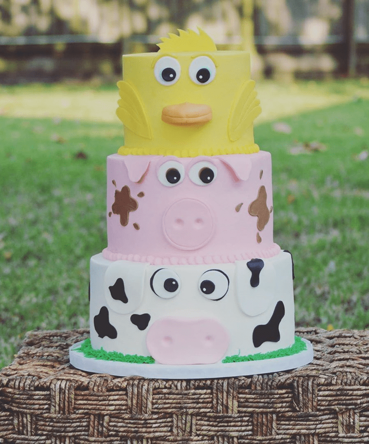 Handsome Pig Cake