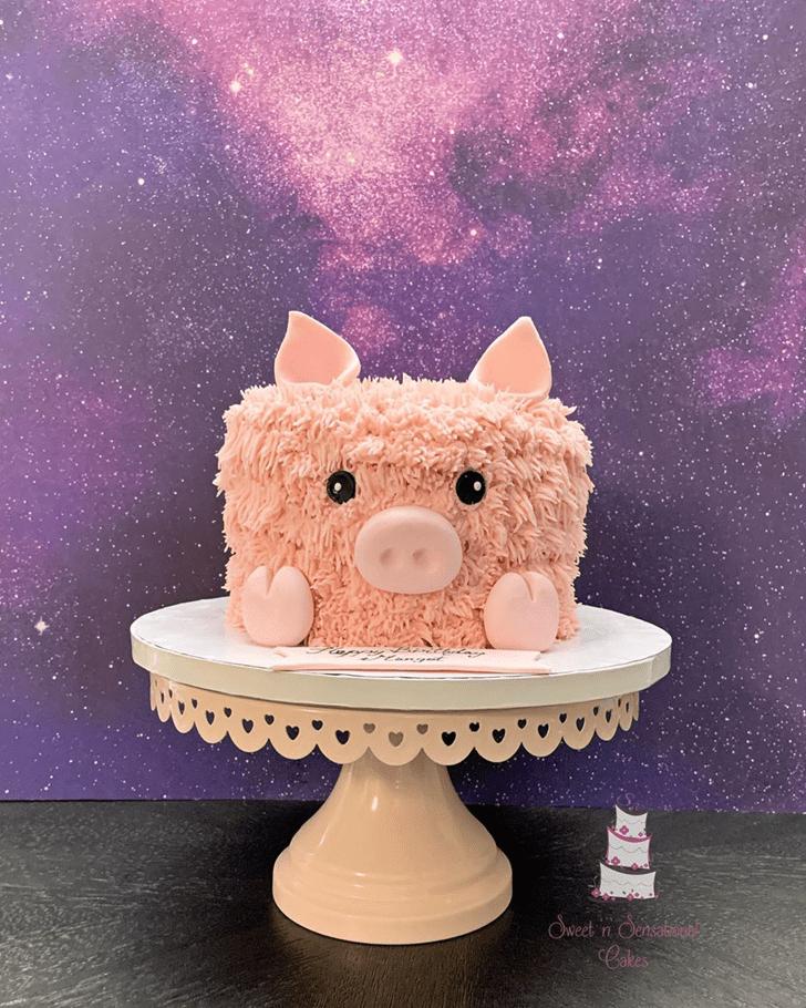 Radiant Pig Cake