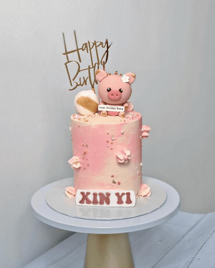 Shapely Pig Cake