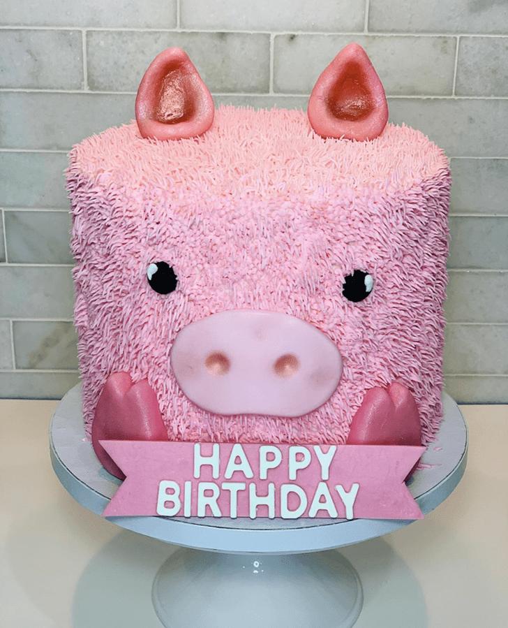 Superb Pig Cake
