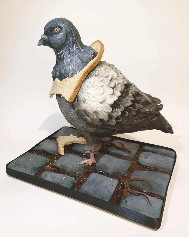 Angelic Pigeon Cake