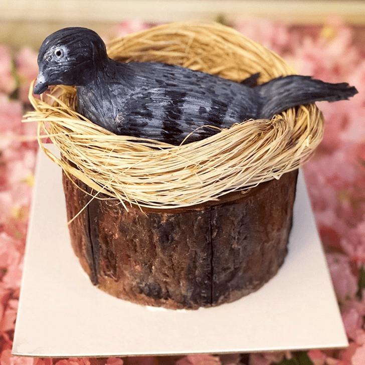 Bewitching Pigeon Cake