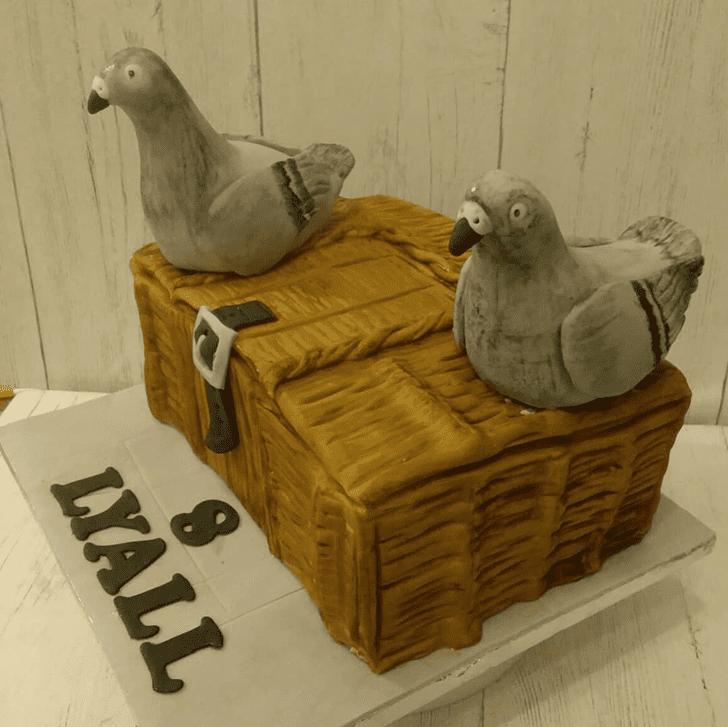 Classy Pigeon Cake