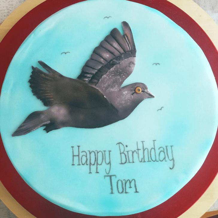 Handsome Pigeon Cake