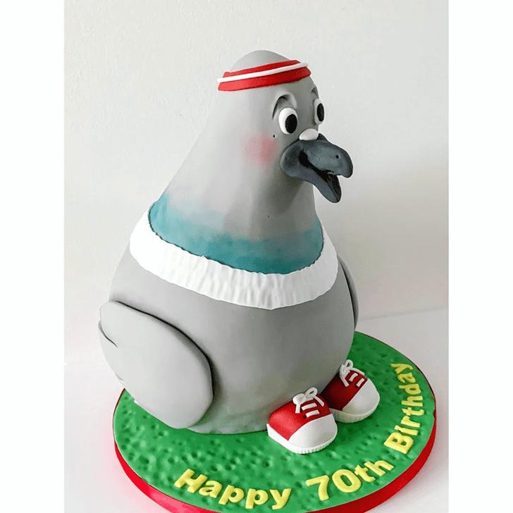 Magnificent Pigeon Cake