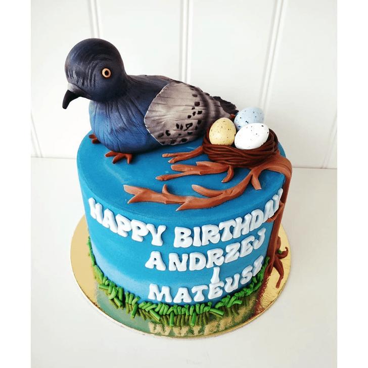 Pleasing Pigeon Cake