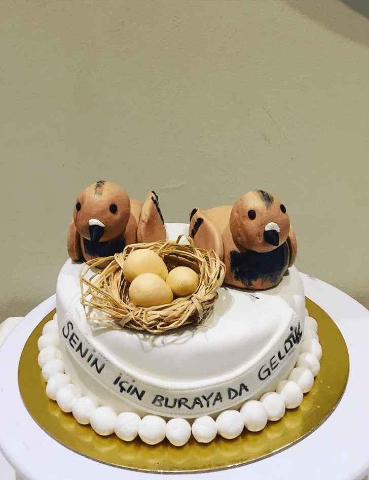 Radiant Pigeon Cake