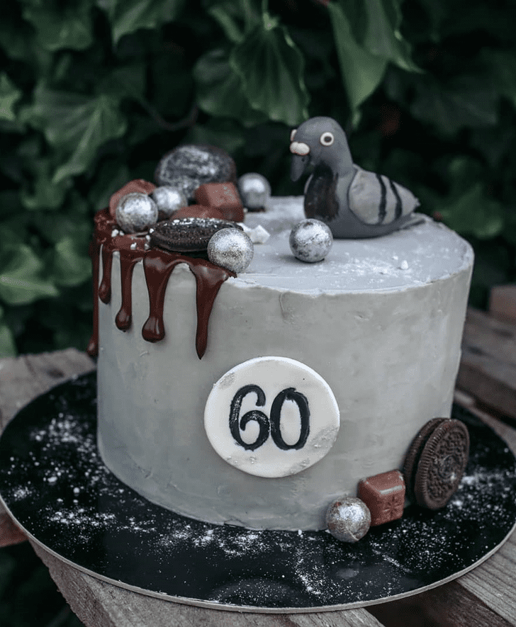 Shapely Pigeon Cake