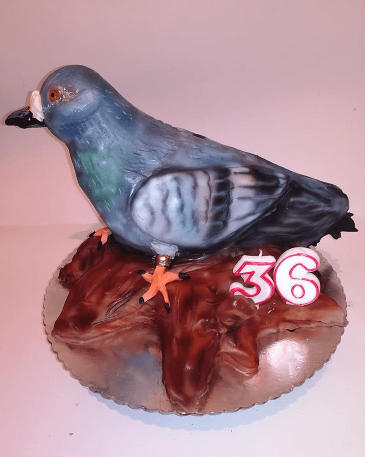 Wonderful Pigeon Cake Design