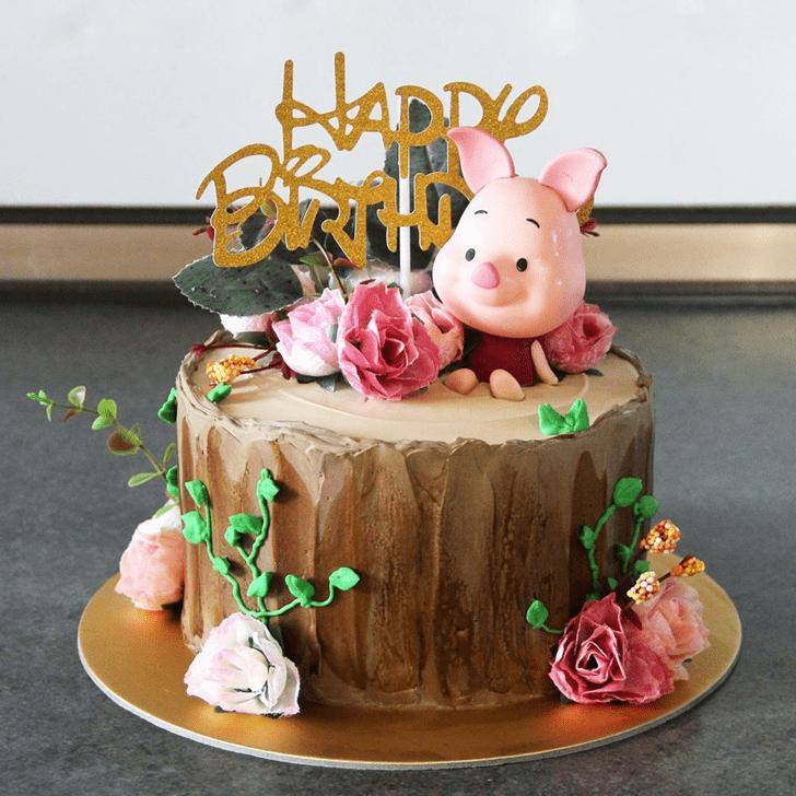 Adorable Piglet Cake