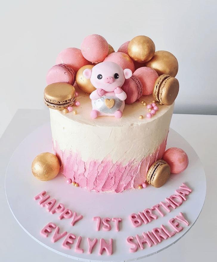 Alluring Piglet Cake