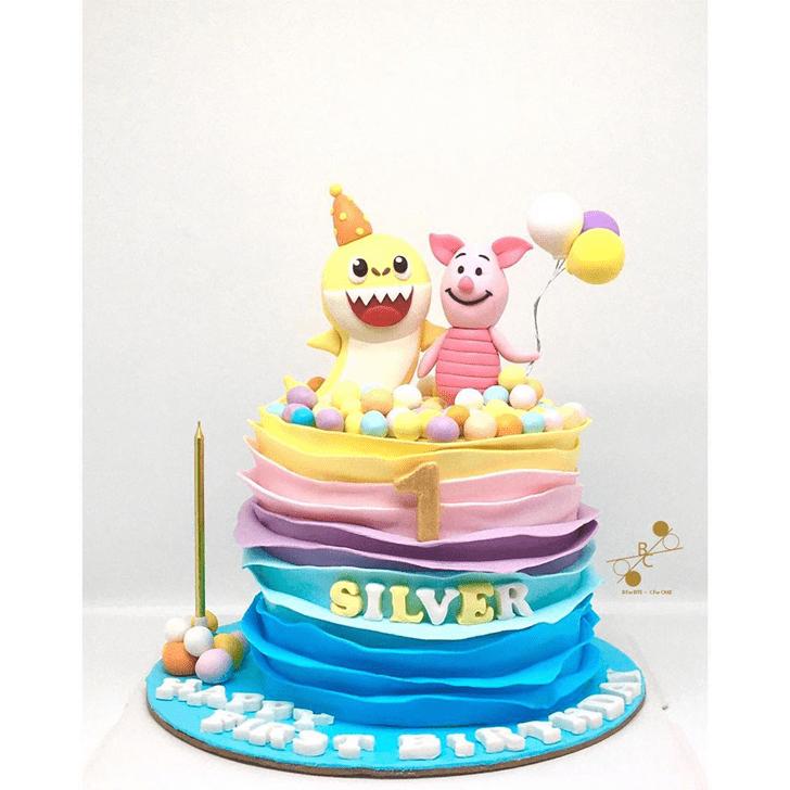 Angelic Piglet Cake
