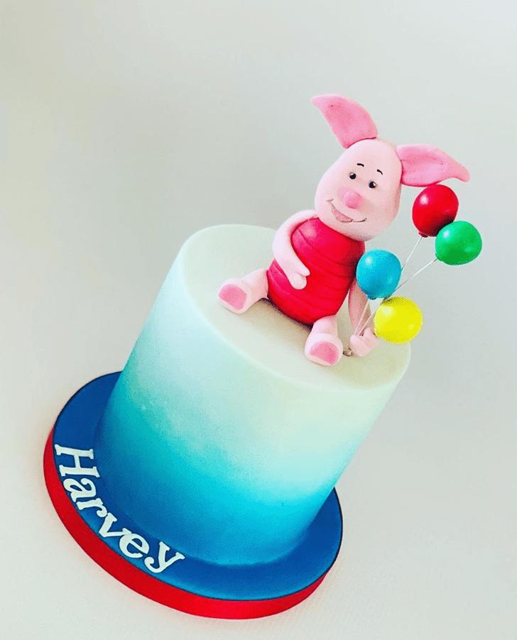 Beauteous Piglet Cake