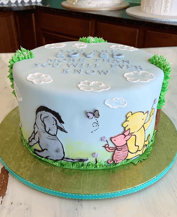 Charming Piglet Cake