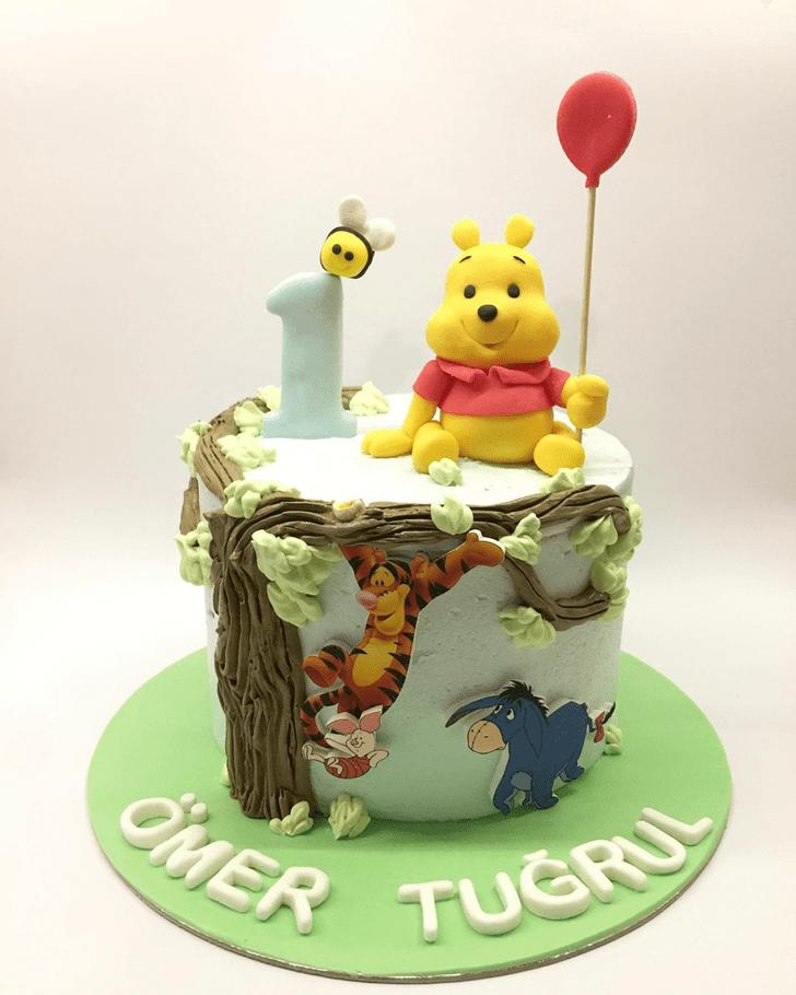 Cute Piglet Cake
