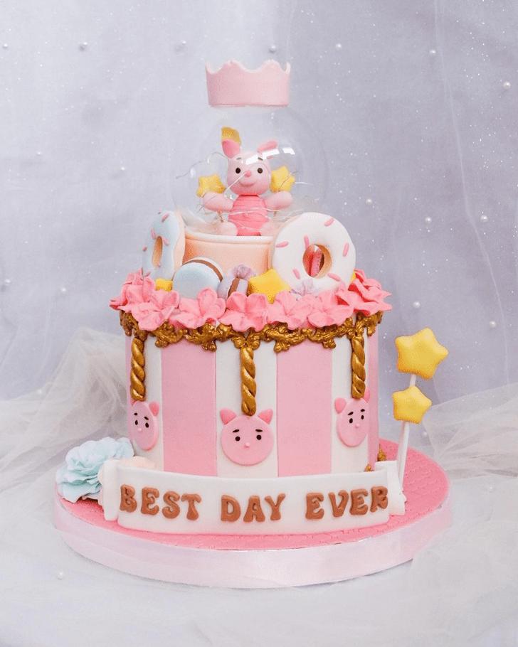 Delicate Piglet Cake