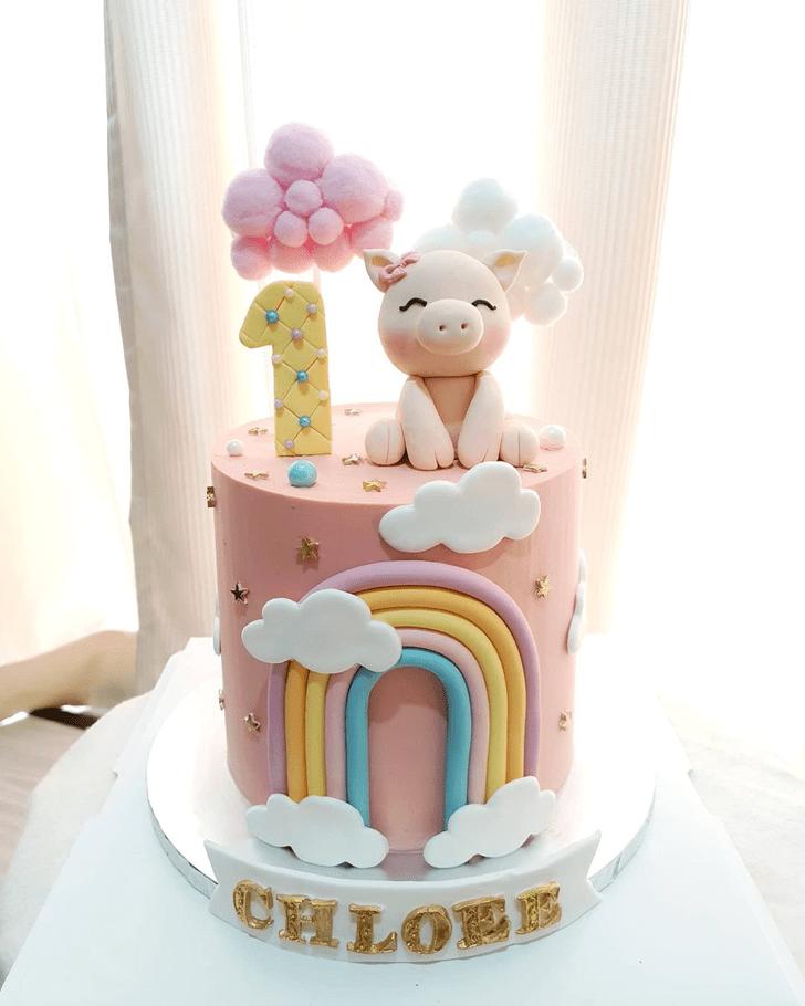 Enthralling Piglet Cake
